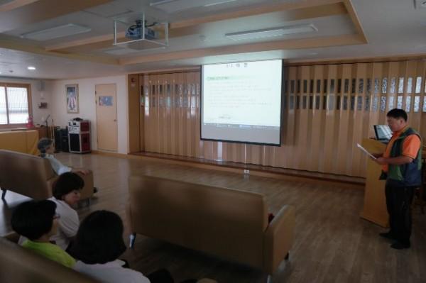 하절기 재난안전대책교육.JPG
